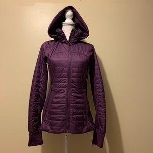 Lululemon First Mile Jacket Darkest Magenta 6